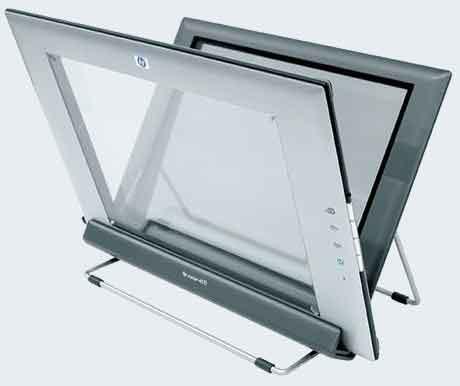 """Прозрачный"""" вертикальный сканер HP Scanjet 4670"""